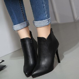 Ericdress Graceful Point Toe Martin Boots