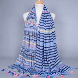 Ericdress Exotic Style Stripe Design Women's Scarf