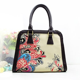 Ericdress Original Print Canvas Handbag