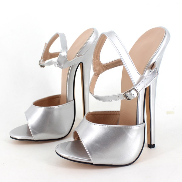 Ericdress Multi Color Ultra High Heel Stiletto Sandals ...