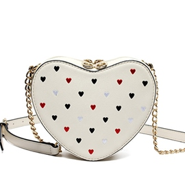 Ericdress Sweet Heart Shape Shoulder Bag