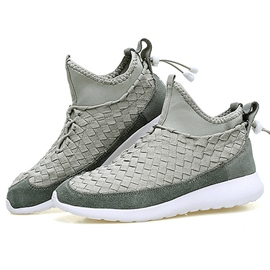 Ericdress Suede Kintting Slip on Men's Sneakers