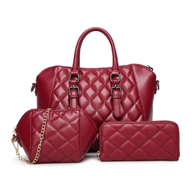 Ericdress Europeamerica Plaid Shell Handbags(3 Bags)