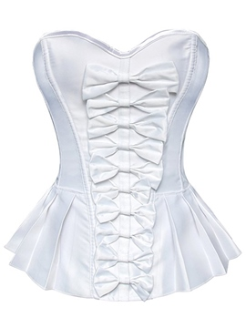 Ericdress Elegant Bowknot Decorated Pleated Corset