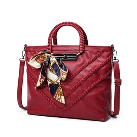 Ericdress Casual Braided Lambskin Handbag