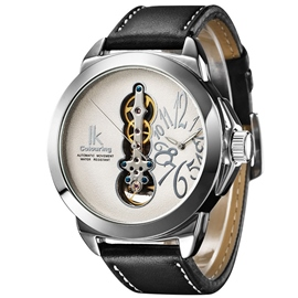 Ericdress Double Movement Large Dial Mechanical Watch for Men