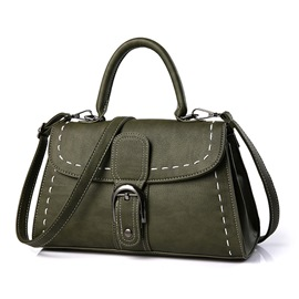Ericdress Casual Bold Thread Motorcycle Handbag