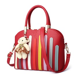 Ericdress Korean Stripe Thread Decorated Handbag