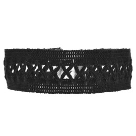 Ericdress Black Lace Stretch Choker Necklace