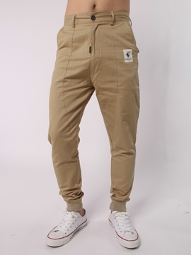 Ericdress Zip Front Plain Casual Men's Pencil Pants