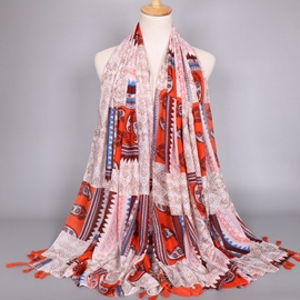 Ericdress Paisley PrinteExotic Style Women's Scarf