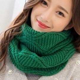 Ericdress Pure Color All-Matched Knitted Neck Warmer