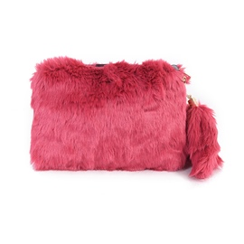 Ericdress Ladylike Fuzzy Shoulder Bag