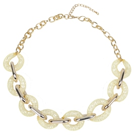 Ericdress Personality Golden Chain Necklace