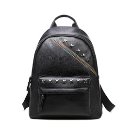 Ericdress Casual Rivets Decorated Travel Backpack