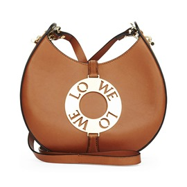 Ericdress Crescent Metal Decorated Crossbody Bag
