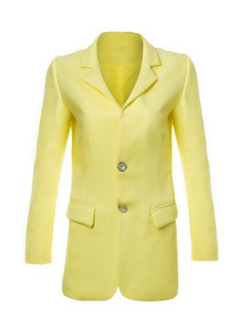 Ericdress Straight Single-Breasted Blazer