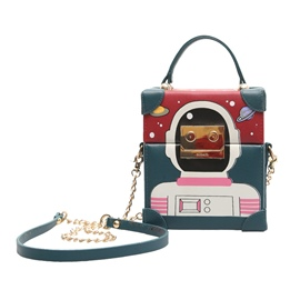 Ericdress Vogue Cartoon Robot Crossbody Bag
