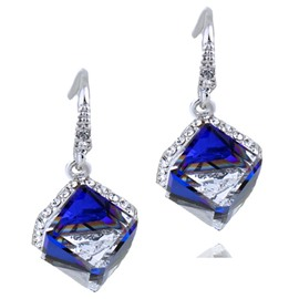 Ericdress Square Crystal Design Alloy Earrings