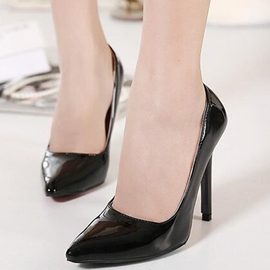 Ericdress Candy Color PU Point Toe Pumps