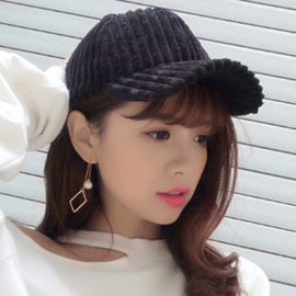 Ericdress Stripe Design Polyester Cotton Baseball Cap