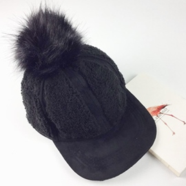 Ericdress Pompon Design Imitation Cashmere Hat for Women