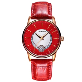 Ericdress Quartz Movement Red Surface Design Women's Watch