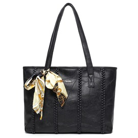 Ericdress Europeamerica Braided Tote Bag