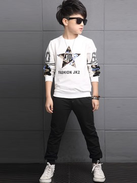 Ericdress Star Patchwork Spring Boys Leisure Outfit