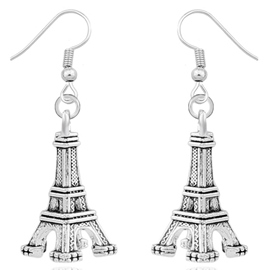 Ericdress Simple Alloy Eiffel Tower Earrings