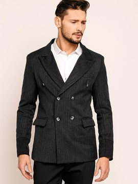 Ericdress Pocket Slim Vogue Double-Breasted Men's Blazer