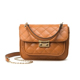 Ericdress Lastest Solid Color Plaid Shoulder Bag