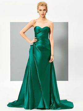 Ericdress Fancy Designer A Line Sweetheart Pleats Evening Dress