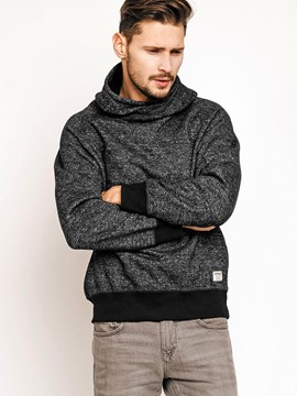 Ericdress Plain Thin Casual Pullover Men's Hoodie