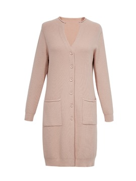 Ericdress V-Neck Single-Breasted Cardigan Knitwear