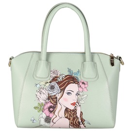 Ericdress Original Beauty Print Handbag