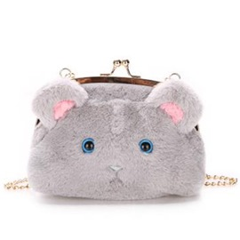 Ericdress Sweet Fuzzy Mouse Shoulder Bag