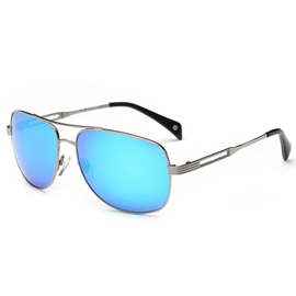Ericdress Double Metal Frame Frog Lens Sunglasses