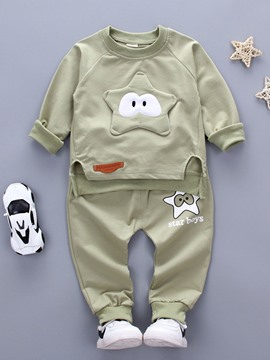 Ericdress Star Appliques Sports Bay Boys Outfit