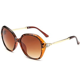 Ericdress Fashion Diamante Frame Unti UV400 Sunglasses