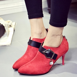 Ericdress Chic Point Toe Buckles Pumps