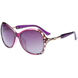 Ericdress Big Frame Design Unti-UV Women's Sunglasses