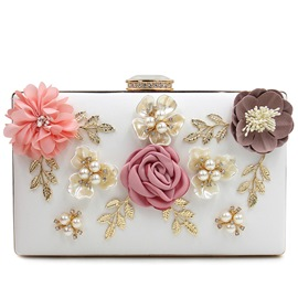Ericdress Lastest Floral Beaded Evening Clutch