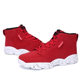 Ericdress Suede Lace-Up High Top Men's Athletic Shoes