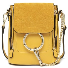 Ericdress Multifunction Metal Circle Decorated Backpack