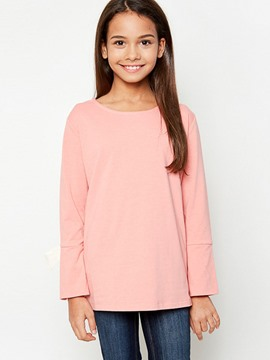 Ericdress Plain Scoop Long Sleeves Shirt