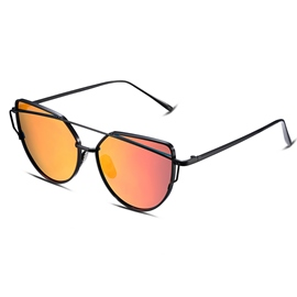 Ericdress Red Lens Polarized Women's Sunglasses