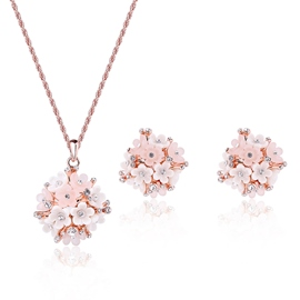 Ericdress All-Matched Flowers Design Two Pieces Jewelry Set