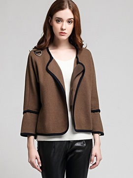 Ericdress Casual Loose Cardigan Knitwear