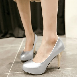 Ericdress Simple Platform Stiletto Heel Pumps